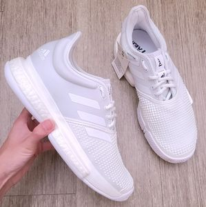 NWT Adidas Soulcourt Parley white shoes 6.5